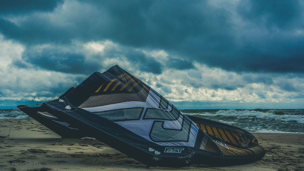 Beach Beauty In Nature Cloud - Sky Day Horizon Over Water Kite Kiteboard Kiteboarding Live For The Story Mode Of Transport Moored Nature Nautical Vessel No People Outdoors Sand Scenics Sea Sky Transportation Water