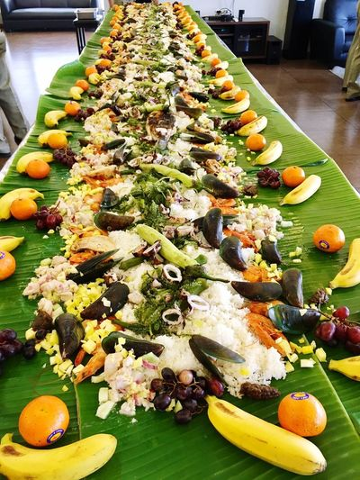 Boodle fights Food And Drink Food Freshness Healthy Eating Salad Vegetable Ready-to-eat Indoors  Fruit Plate Corn Table Pumpkin Healthy Lifestyle No People Close-up Day Greek Food