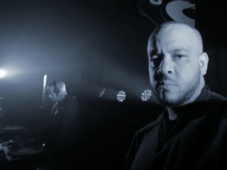 Negus👑 Coki Dubstepmusic Glastonbury Festival Illuminated Shaved Head Entertainment Event Large Group Of People