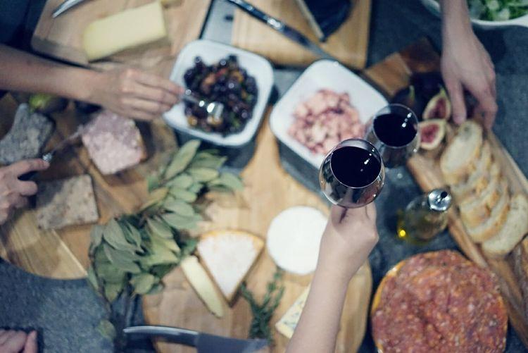 Wineandcheese Brie Truffle Cabernetmerlot Soppressa