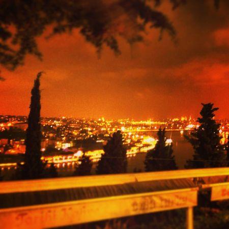 Landscape Manzara Günbatımında Gunbatimi Gece Akşam Manzara Ucurum Aşk Türkiye Turkey Istanbul