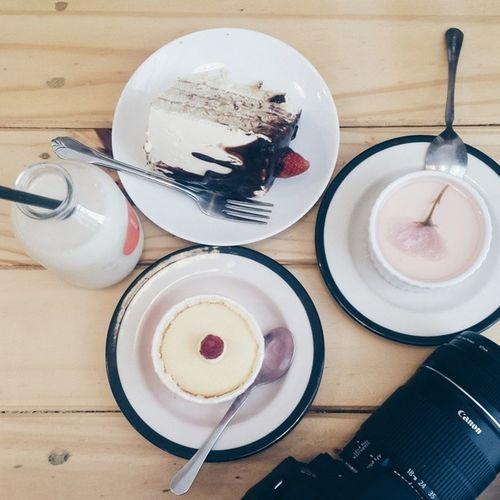 Vscocam Vscophotos Vscofoods sakura cheesecake, berry sponge, tokyo cheesecake