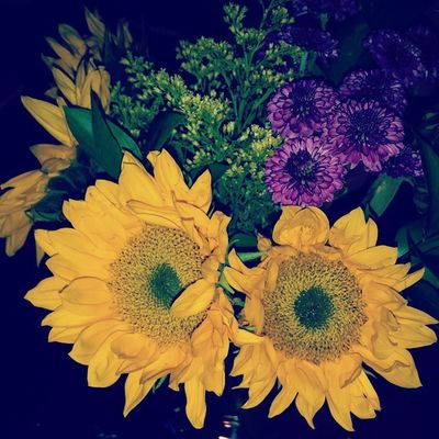 My beautiful anniversary flowers! Wildflowers Blessed