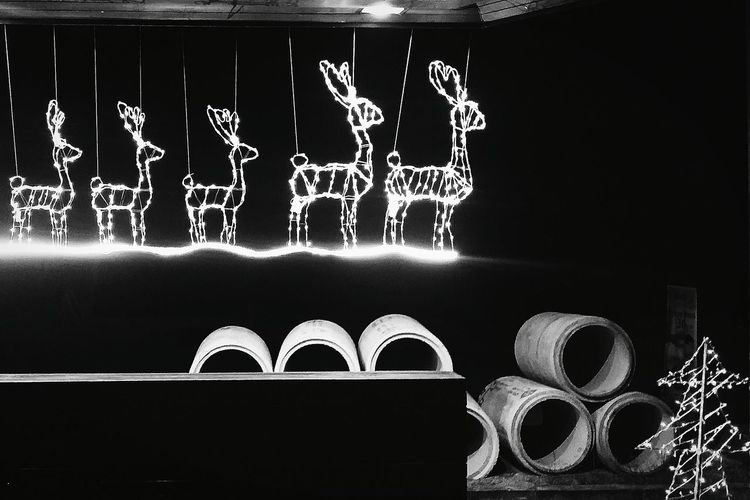 Christmas Around The World Reindeers Construction Material Koh Samui Thailand Bnw Bnwcollection Bnwphotography Bnw_captures Bnw_travel Bnw_kohsamui Bnw_thailand Eyeemkohsamui Eyeemthailand Eyeemphotography Eyeemcollection