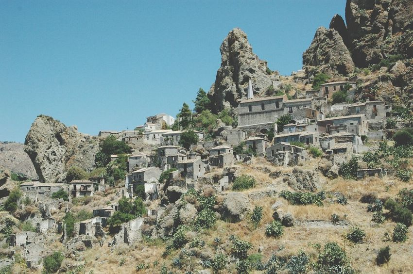 Italy Calabria Pentedattilo Beautiful Nature Ghost Town Sunny Day Holiday Summer2k15