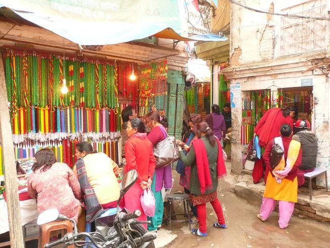 Kathmandu People Busy Place Busy Street Kathmandu, Nepal Nepal Small Business Traditional Clothing