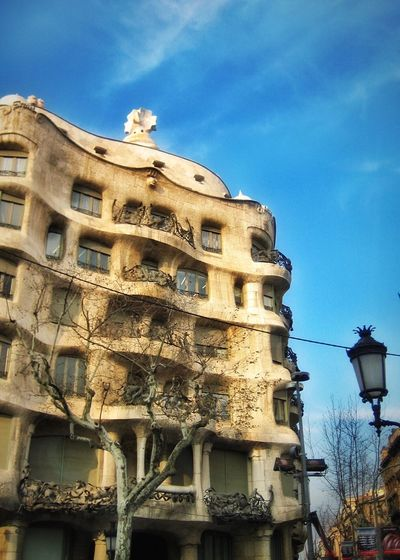 Casa Mila Gaudi, Barcelona- a flashback of my photos never made to see the world March 15, 2006. Check This Out Hello World EyeEm Photography2016 Amazing Architecture Antoni Gaudí Barcelona, Spain Architecture Architecture_collection Gaudì Architecture Work 10 Years Ago Gaudi 2006 Throwback Photowalking Barcelona 20006 Old Relics Showcase The Beginning