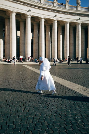 Rome Vatican Nun Holy City Italy Walking The Portraitist - 2016 EyeEm Awards