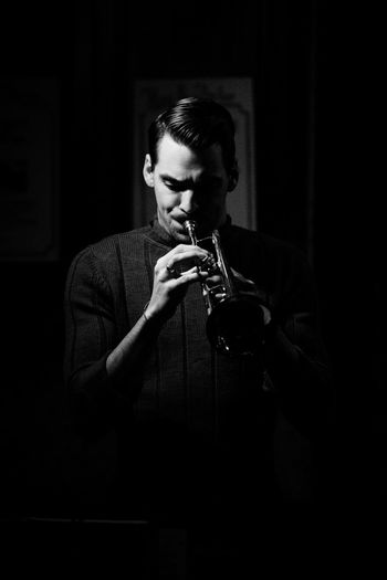 Barbra Lica and The Woodhouse concert Black & White Concert Concert Photography Instrument Of Time Instruments Jazz Concert Lifestyles Portrait The Woodhouse Trombone The Portraitist - 2018 EyeEm Awards