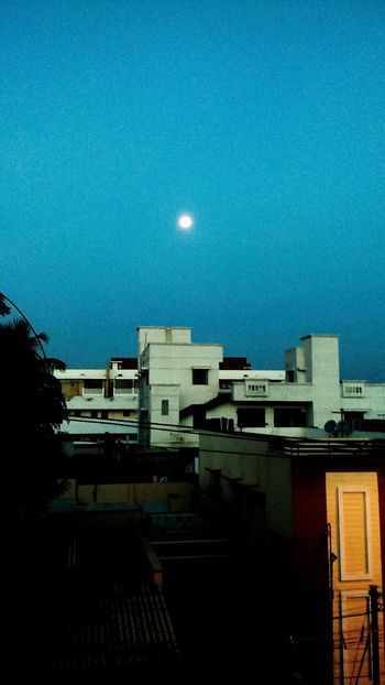 Sky Moon Moon Moon Night Astronomy Architecture Moonlight Space Crescent