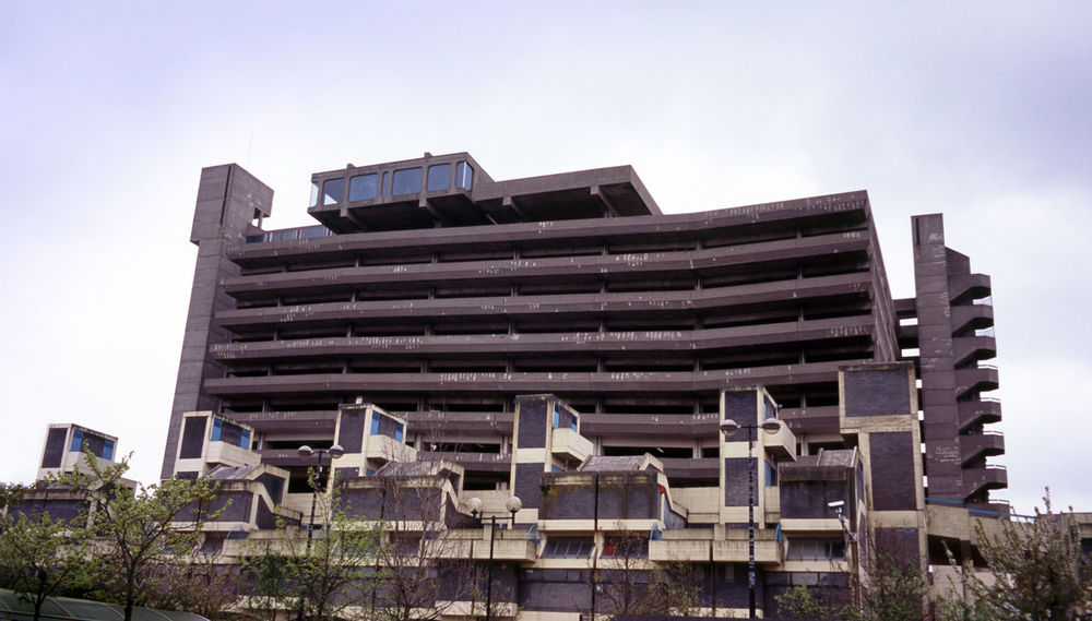 brutalist architecture - trinity centre gateshead, owen luder. Architecture Building Exterior Car Park Carpark Concrete Gateshead Gatshead Get Carter Multistory North East Owen Luder