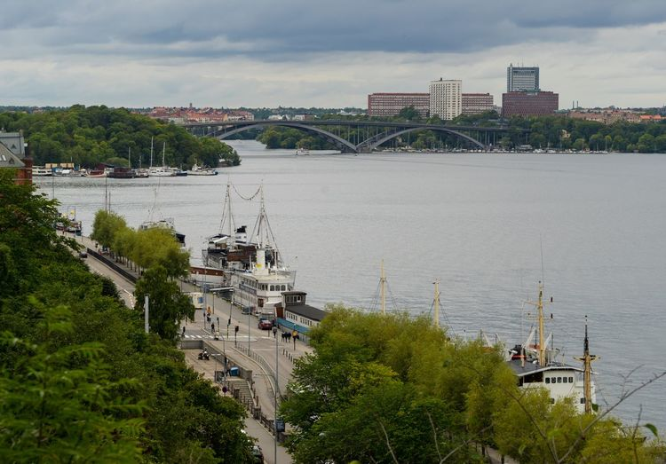 A7R Dark Clouds Dramatic Sky Scandinavia Stockholm Stockholm, Sweden Södermalm Trees View View From The Top Boats Bridge Buildings City City Life Outdoors Overcast Sky Sony Sony A7r Travel Destinations Urban Skyline Viewpoint Water