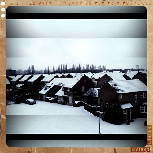 Weather Condition White Roof Top Snow Covered It's Cold Outside Banbury Snow ❄ Snow Covered Residential Structure