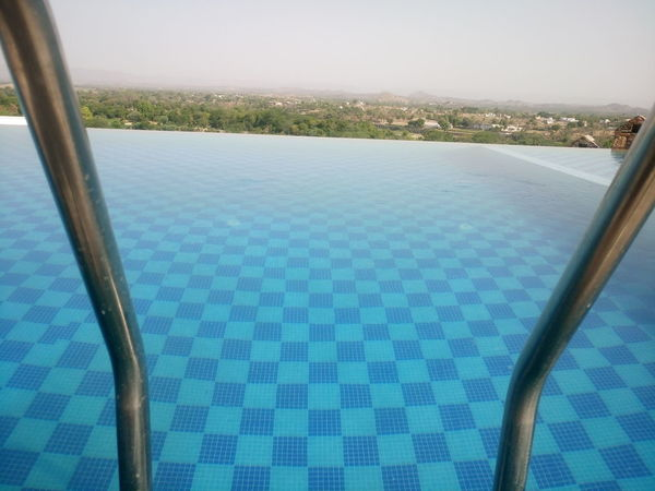 Beauty In Nature Blue Clear Sky Day Hotel Luxury Luxury Hotel Nature No People Outdoors Relaxation Scenics Sky Swimming Pool Tourist Resort Tranquil Scene Tranquility Vacations Water Wealth