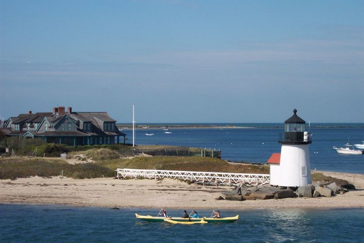 Brant Point lighthouse Nantucket Outdoors ısland Life Tranquility Island Nantucket Calmness Peace Relaxation Boats On Water Row Boat