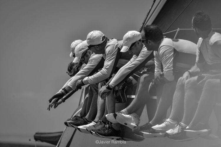 Sailing race.