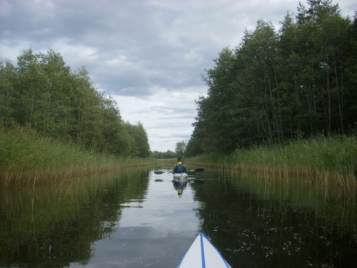 Travel in Sweden Canal Kayak Kayaking Nature Outdoors Reflection Scenics Tranquil Scene Tranquility Water Neighborhood Map