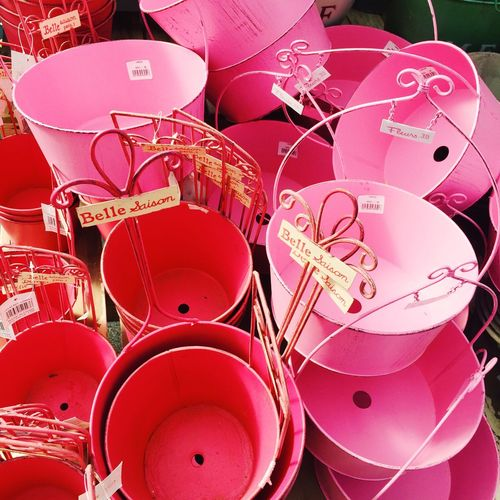 Pink Lovely Cute Color Bucket Japan 💗❤️💗❤️