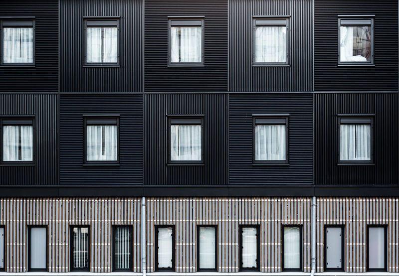 Modern building wooden elevationmade from black colored alternated timbers on London hotel in Docklands Architecture Backgrounds Building Exterior City Colateral Consistency Dark Docklands London Elevation Front Full Frame Geometry Hotel Lines Modern Architecture Outdoors Parallel Pattern Rectangle Square Stripes Pattern Urban Wall Window Windows 10