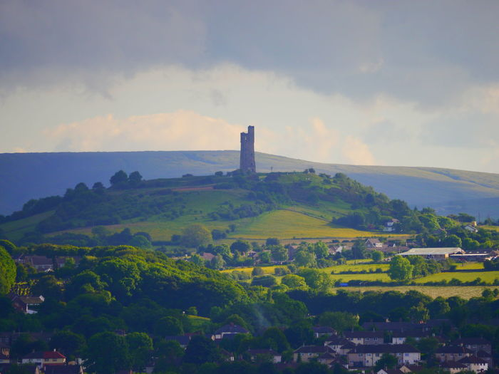 Agriculture Architecture Beauty In Nature Building Exterior Built Structure Castle Hill Castle Hill, Huddersfield  Day Huddersfield June June 2017 Landscape Nature No People Outdoors Scenics Sky Tranquility Victoria Tower
