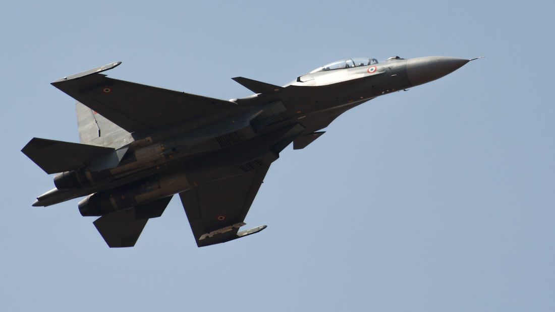 Sukhoi SU30mki of Indian Air force India Indian Army Airforce Military Air Force No People Aerospace Industry Outdoors Mid-air Military Airplane Transportation Fighter Plane Sky Clear Sky Airshow Airplane Flying Air Vehicle Day