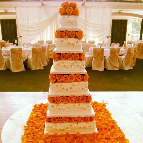 Weddingcake London Eggless Indian Weddingrecepton