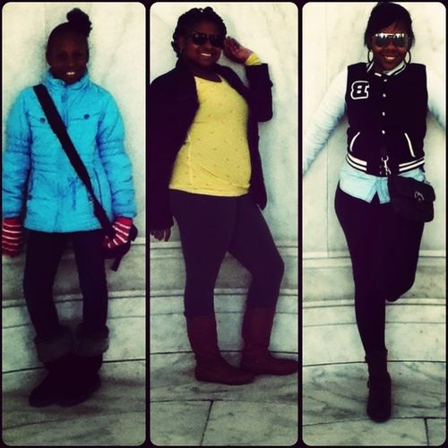 Me and my Sissy's in DC