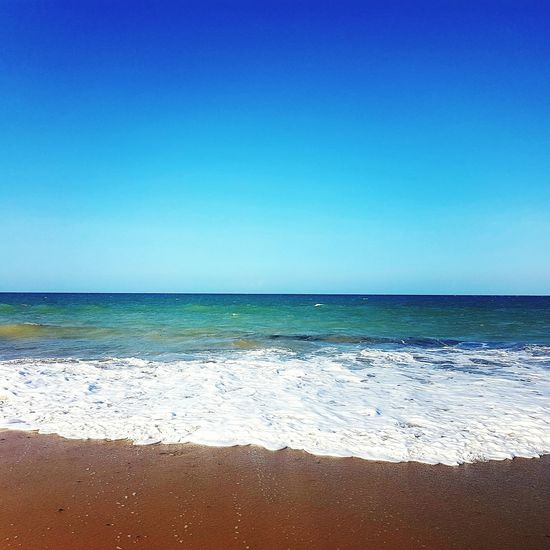 Sea Sea And Sky Beauty In Nature Summer Beach Horizon Over Water Sand Blue Clear Sky Sunlight Vacations Tranquility Wave Sea View Nature Sky Water Tranquil Scene Day No People Scenics Outdoors Cumbuco Beach Cumbuco Cumbucobeach The Great Outdoors - 2017 EyeEm Awards Live For The Story