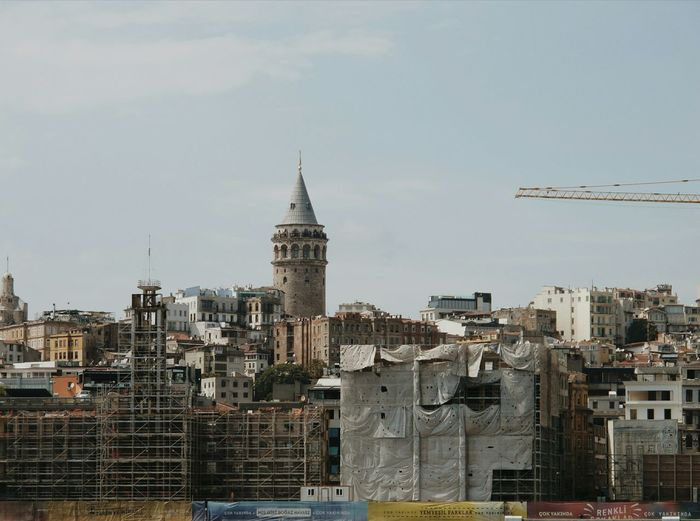 Galata Tower City Cityscape Urban Skyline Modern Skyscraper Downtown District Business Finance And Industry Office Building Exterior Sky Architecture Tower #urbanana: The Urban Playground A New Beginning