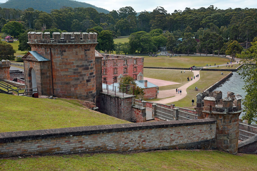 Jan 2017 19th Century Penal Colony Architecture Building Exterior Built Structure Day Grass Green Color History Nature No People Old Ruin Outdoors Port Arthur Sky Tasmania Travel Destinations Tree