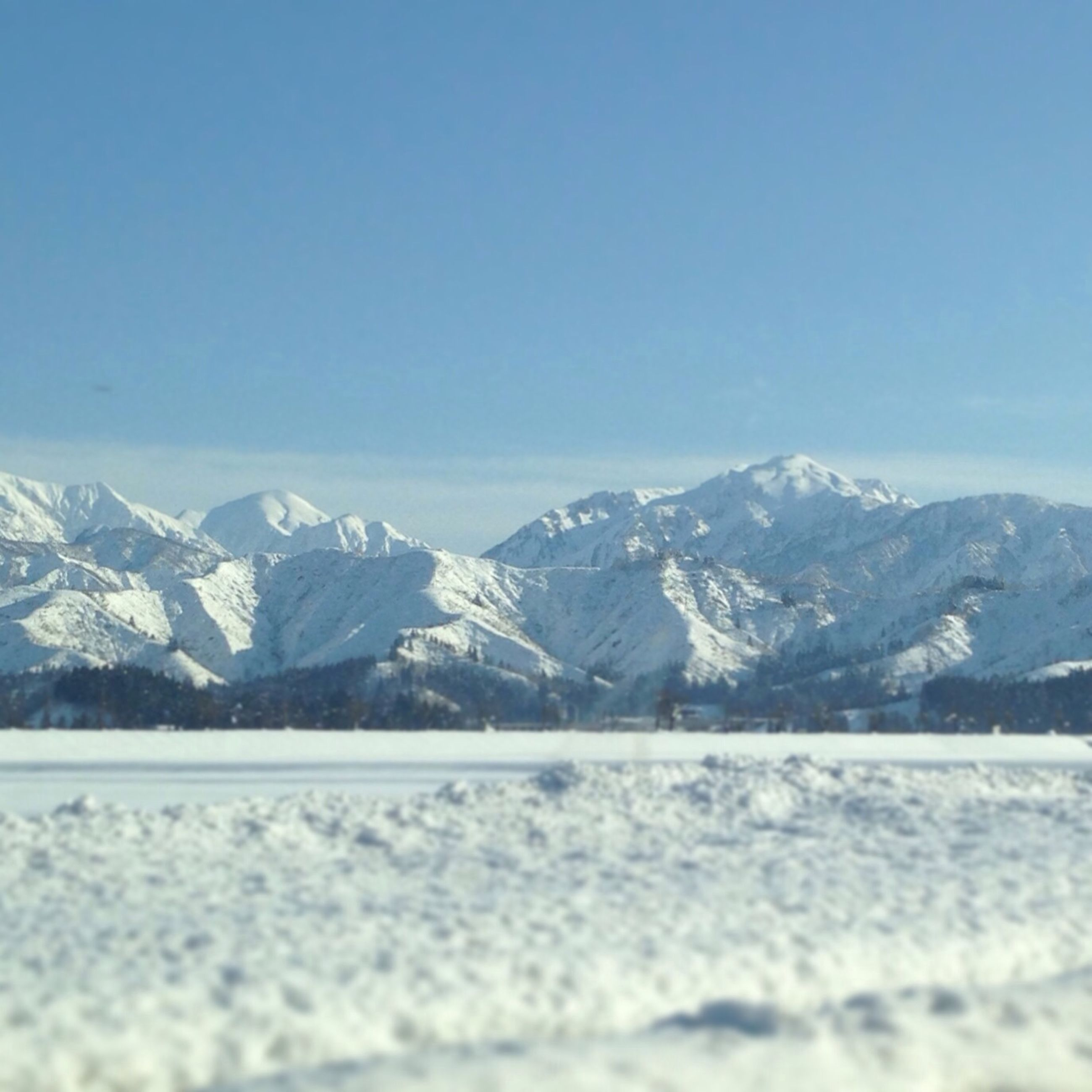 snow, winter, cold temperature, mountain, season, clear sky, mountain range, tranquil scene, tranquility, scenics, snowcapped mountain, copy space, beauty in nature, landscape, weather, nature, covering, blue, frozen, snowcapped