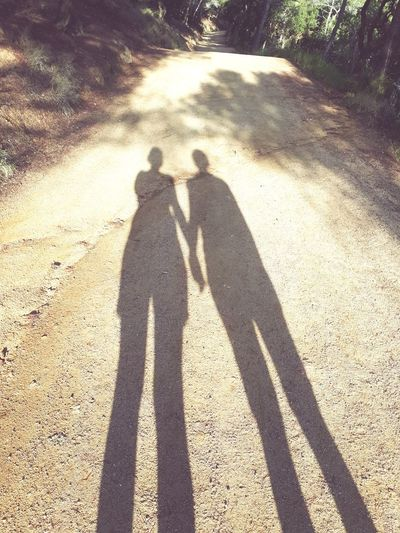 Shadow Togetherness Love ♥ Gay Girls Wife Travel Destinations SPAIN Connected By Travel
