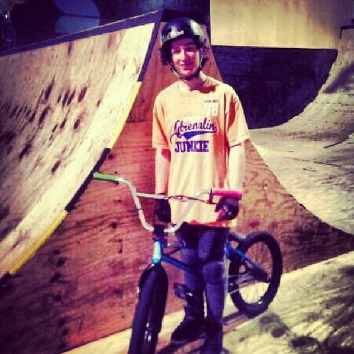 Picture from last year ! Nice Little Woodward Hoy bmxlifeinstabmxlhd