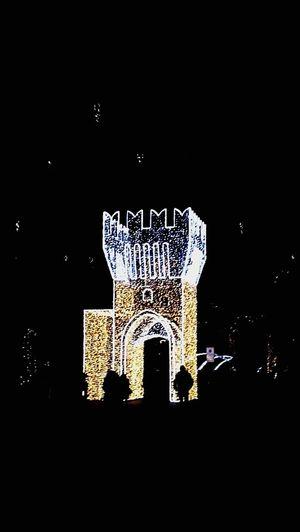 Illuminated Outdoors Architecture Lighting Equipment Civitanova Marche