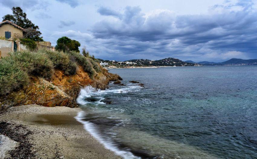 Landscape Landscape_photography Landscape_Collection Landscape_captures France Water Sea Beach Wave Sky Cloud - Sky Seascape Coastline