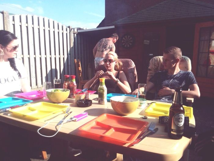 Familie tijd ✌️ Hello World Smoke Weed BBQ