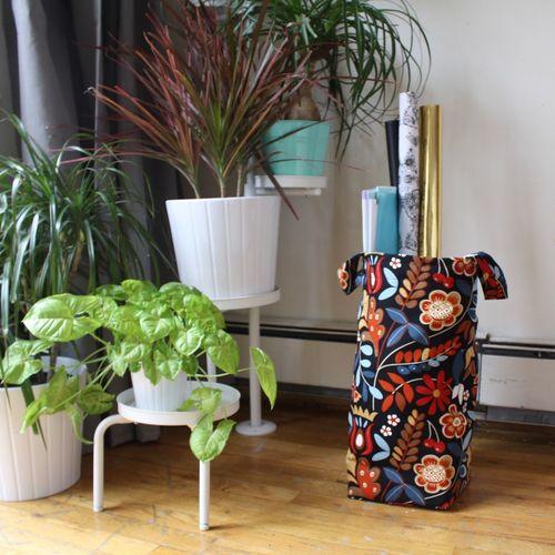 Home Organization Laundry Basket Hamper Storage Bag Plants