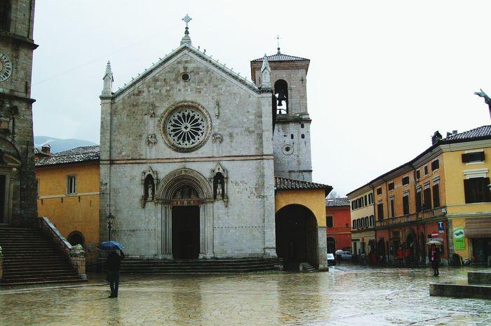 Ricordi di Norcia before the earthquake Architecture Religion Building Exterior Spirituality Old House