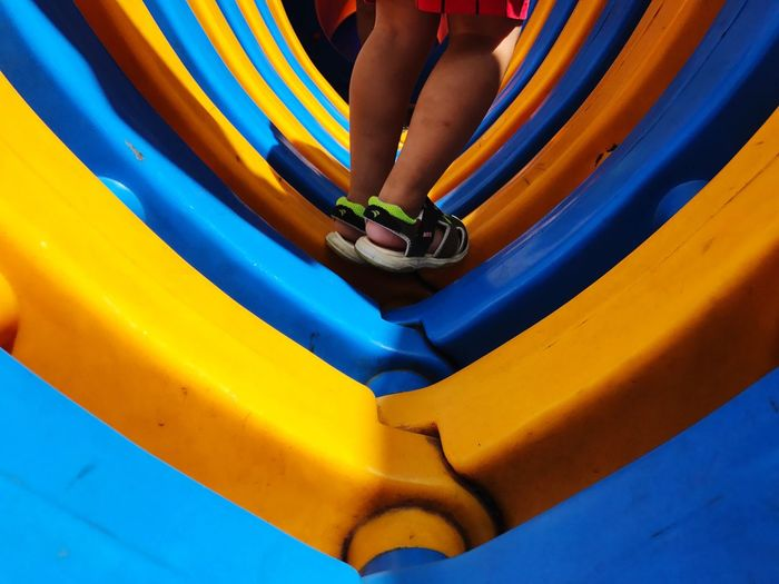 EyeEm Selects Low Section Childhood One Person Leisure Activity Human Leg Real People Playground Lifestyles Outdoors Enjoyment Playing Fun Day Outdoor Play Equipment People EyeEmNewHere