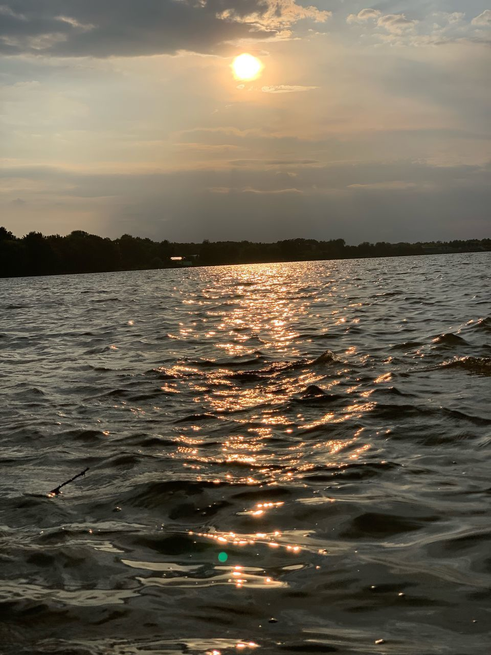water, sky, sunset, sea, beauty in nature, scenics - nature, tranquility, cloud - sky, nature, tranquil scene, sun, waterfront, reflection, idyllic, orange color, no people, outdoors, sunlight, marine