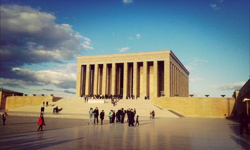 Awesome Architecture Anıtkabir Turkish Hero Popular Photos