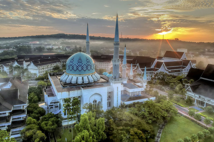 Universiti Teknologi Malaysia University Technology Malaysia Utm Skudai Architecture Built Structure Nature No People Sky