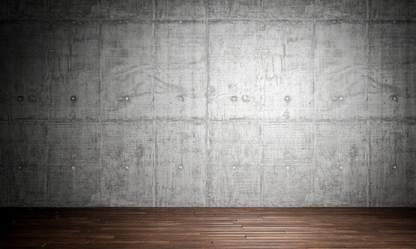 Wall Cement Concrete Parquet Wood Background Texture Pattern Gray Abstract Rough Textured  Grunge Dirty Stone Floor Structure Architecture Old Construction Material Design Wallpaper Empty Concrete Wall Building Exterior Space Urban Modern Interior 3D 3d-rendering Render Tile