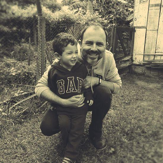 Monochrome Photography father fatherhood fatherandson First Eyeem Photo