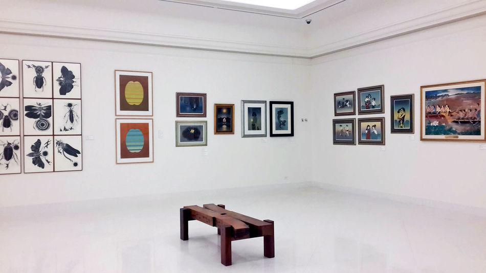 Art Clock Day Gallery Indoors  Museum Museum Of Modern Art No People