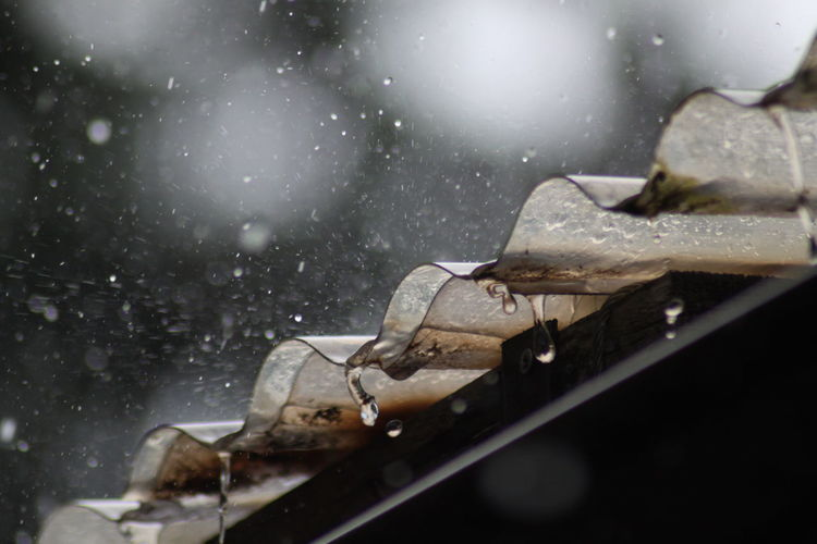 Heavy Rain Wet Roof Rain Raining Water Drops Heavy Rainfall Heavy Rain Regen Starker Regen Regentropfen Cold Temperature Astronomy Close-up