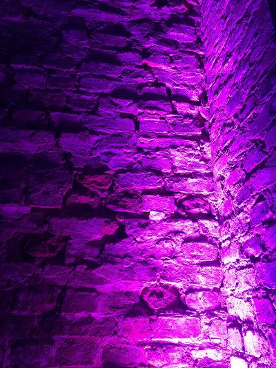 Full frame shot of purple wall