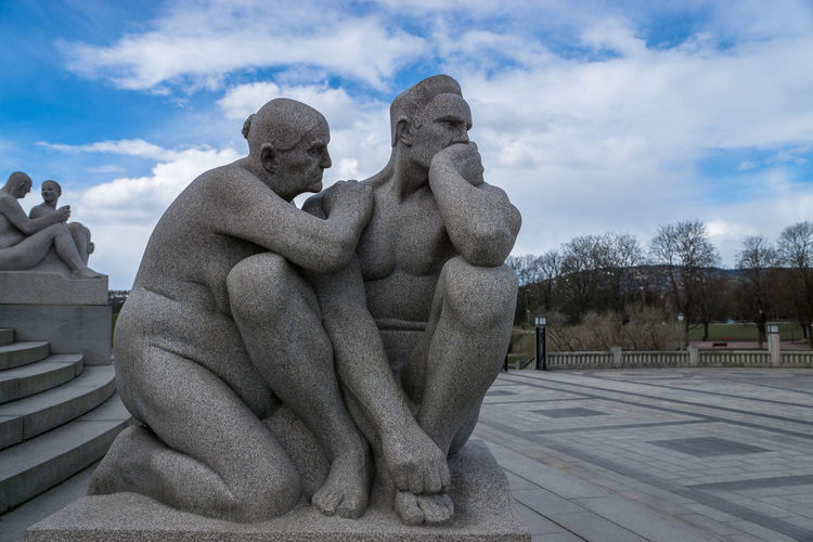 Statues At The Vigeland Park
