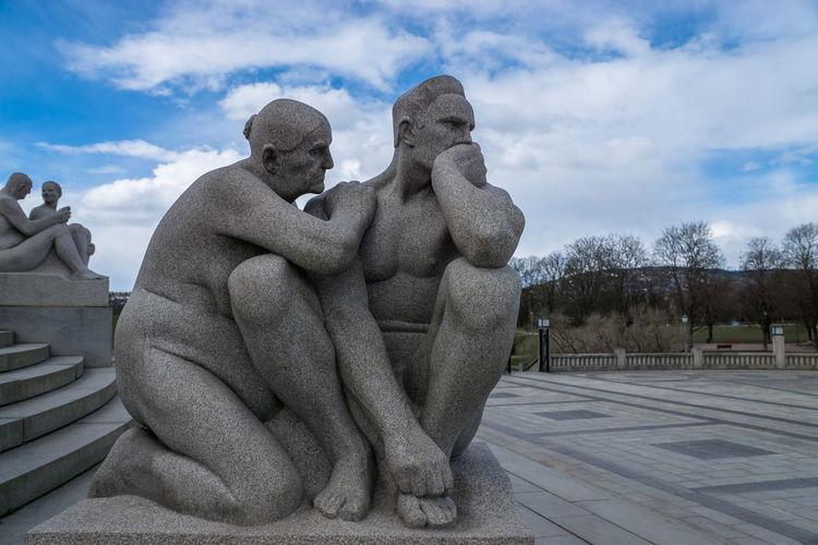 Vigeland Sculpture Park Vigeland Sculpture Park Oslo