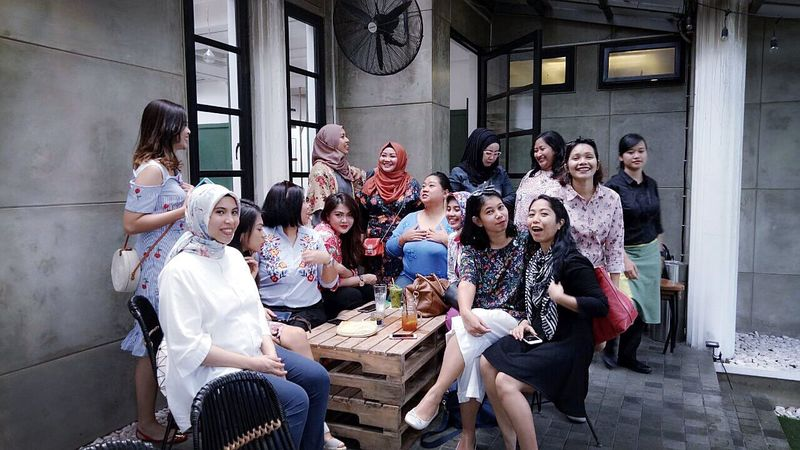 Arisan exIMMommies, At SIKU, Dharmawangsa ImpressiveMindsMoms Mobile Upload-Me & Friends Arisan IMCH By ITag Arisan Ex IMLC's MOMs By ITag